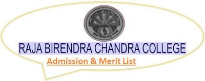 RBCC Kandi Merit List