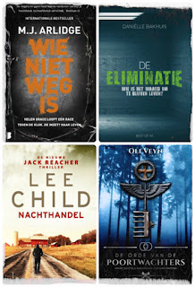 M.J. Arlidge, Danielle Bakhuis, Lee Child, Oli Veijn