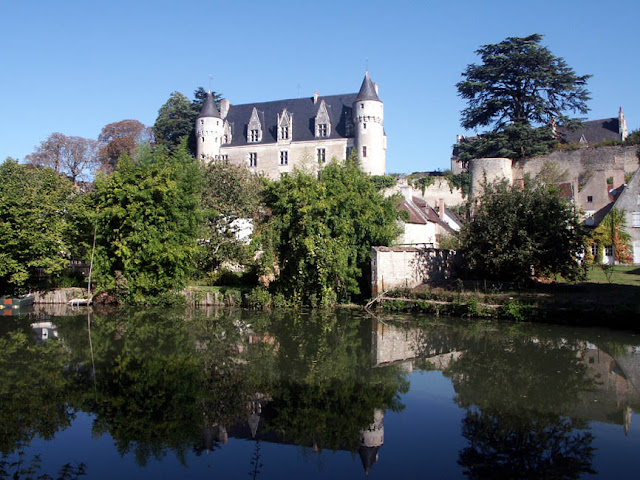 Chateau de Montresor.  Indre et Loire, France. Photographed by Susan Walter. Tour the Loire Valley with a classic car and a private guide.