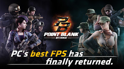 Download Point Blank: Strike Mod Apk (Unlimited Ammo+High Damage) 2018
