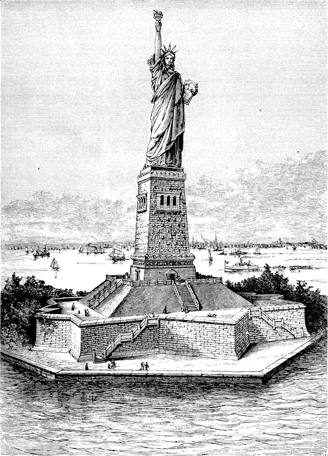 liberty enlightening the world essay Statue of liberty enlightening the world the new york trust fund, 1943 gray, walter interpreting american democracy in france: the career of edouard laboulaye.
