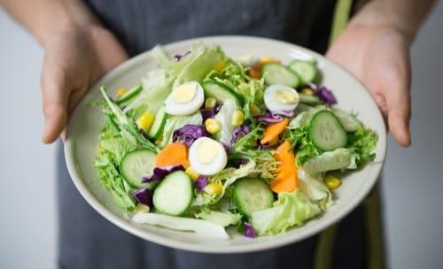 Assorted Arabic vegetable salad