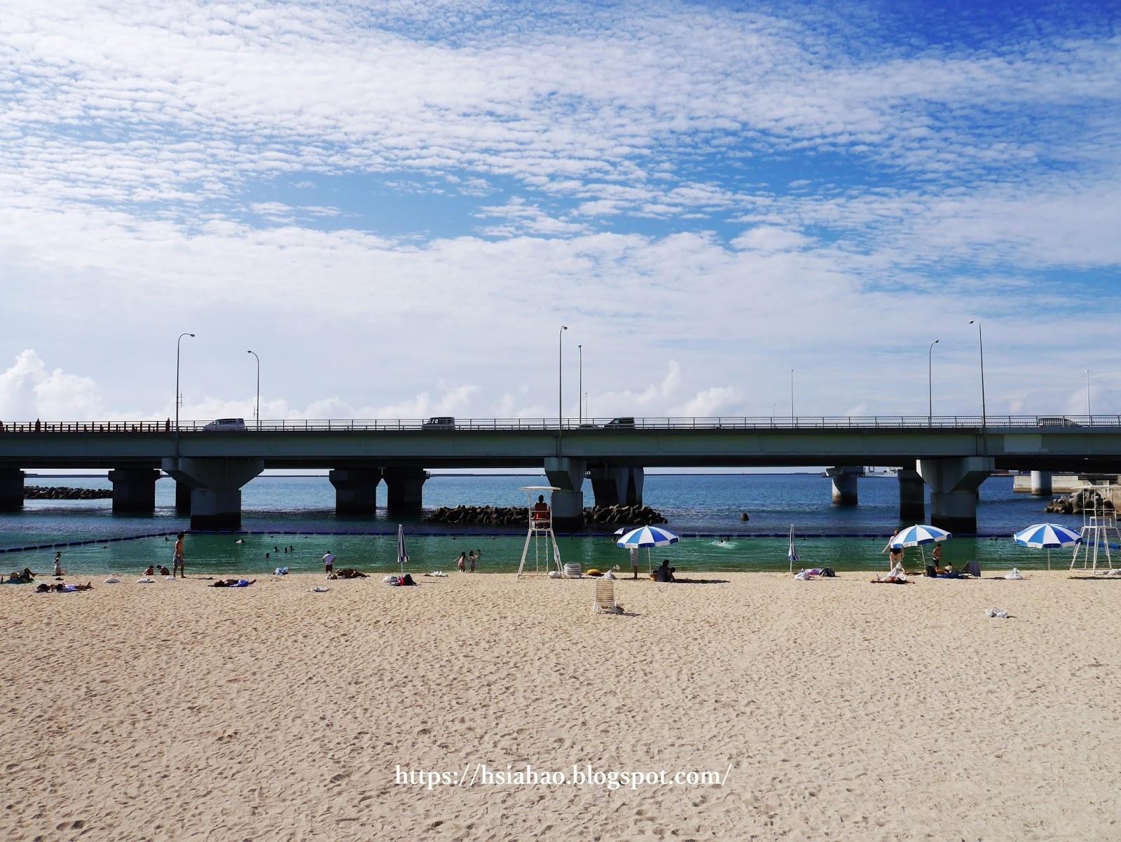 沖繩-那霸-景點-波之上海灘-自由行-旅遊-Okinawa-Naha-beach