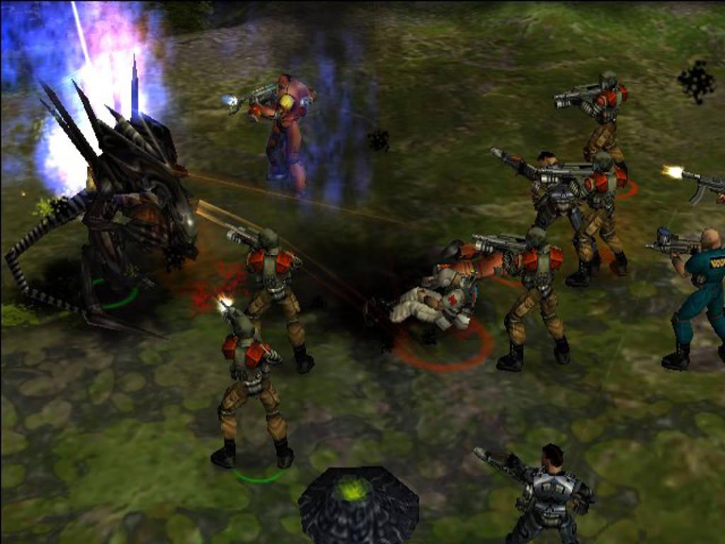 Download Game Aliens Vs Predator - Extinction ISO PS2 For ...