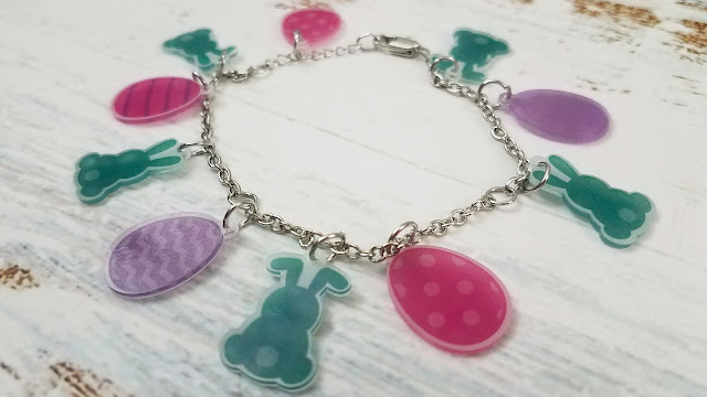 Silhouette School for kids, Shrink Sheets, Shrinky Dinks, Print and Cut, Jewelry, charm bracelet