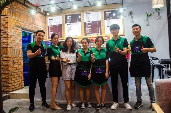 Đồng phục nhân viên cafe Huế Zone Coffee