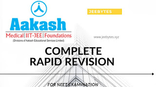 Aakash: Complete Rapid Revision For NEET 2021-22