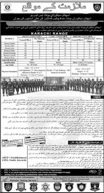 sindh-police-special-security-unit-jobs-2021-pts-application-form