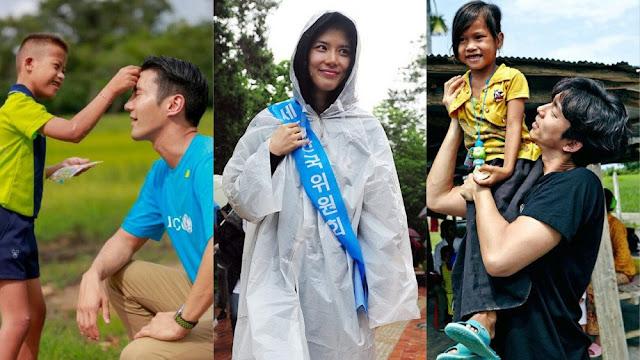 UNICEF İyi Niyet Elçisi olduğunu bilmediğiniz 8 Koreli ünlü