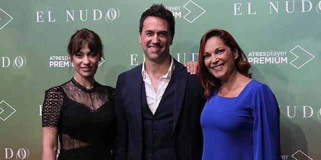Presentación de la serie 'El Nudo', de de Atresmedia y Diagonal TV