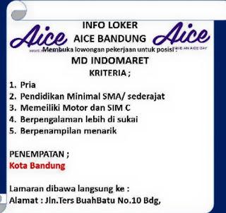 Lowongan Kerja AICE Bandung Terupdate 2020