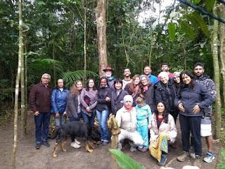 Deputado Federal Paulo Teixeira e Autoridades Judiciais visitam Comunidade Caiçara que teve moradias derrubadas por Fundação Florestal