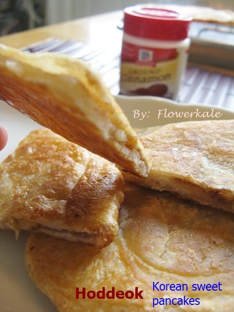 flowerkale Hoddeok Sweet Korean Pancakes