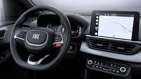 Novo Fiat Pulse: SUV tem interior revelado em fotos e vídeo