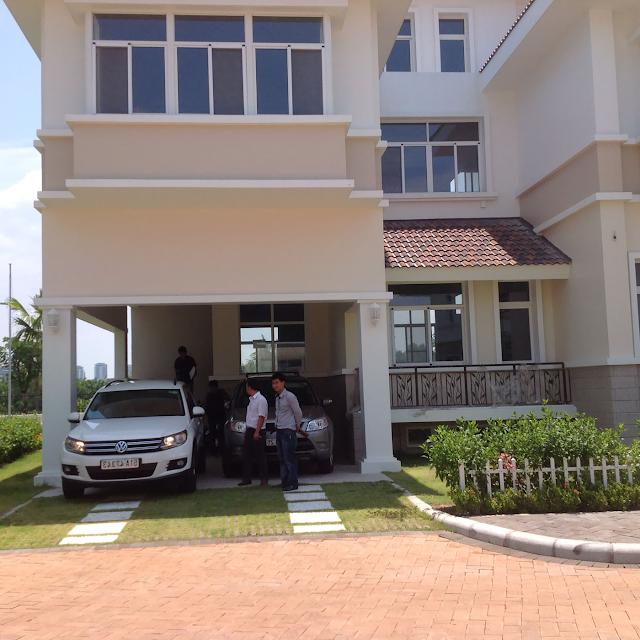 Hình chụp thực tế biệt thự Phú Mỹ Hưng