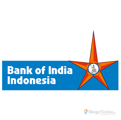 Bank of India Indonesia Logo Vector (.CDR, .EPS, .AI, .PNG)