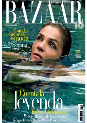 Revista Harper's Bazaar agosto 2020 noticias moda y belleza mujer
