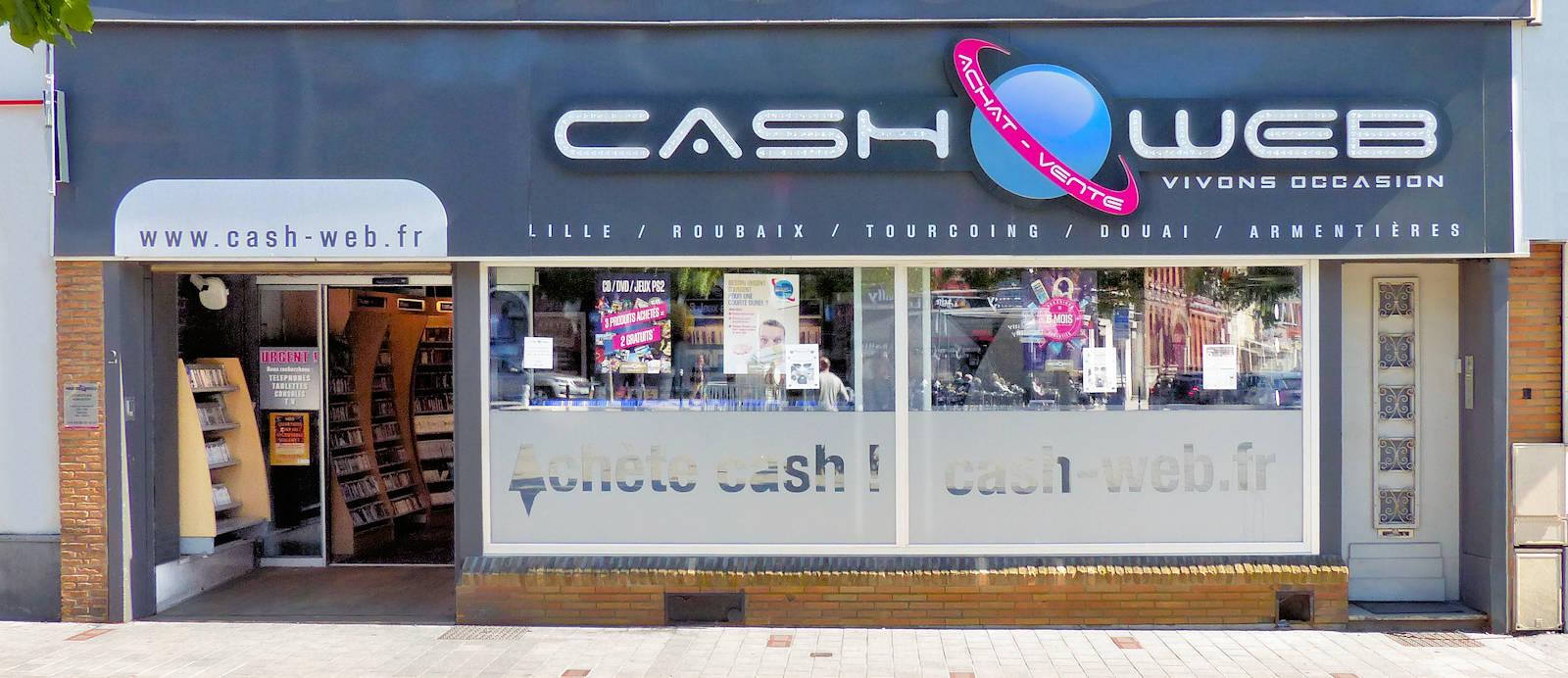 Cash Web Tourcoing Centre, 2 place Charles et Albert Roussel