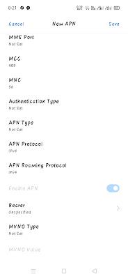 New APN Menu Part 2