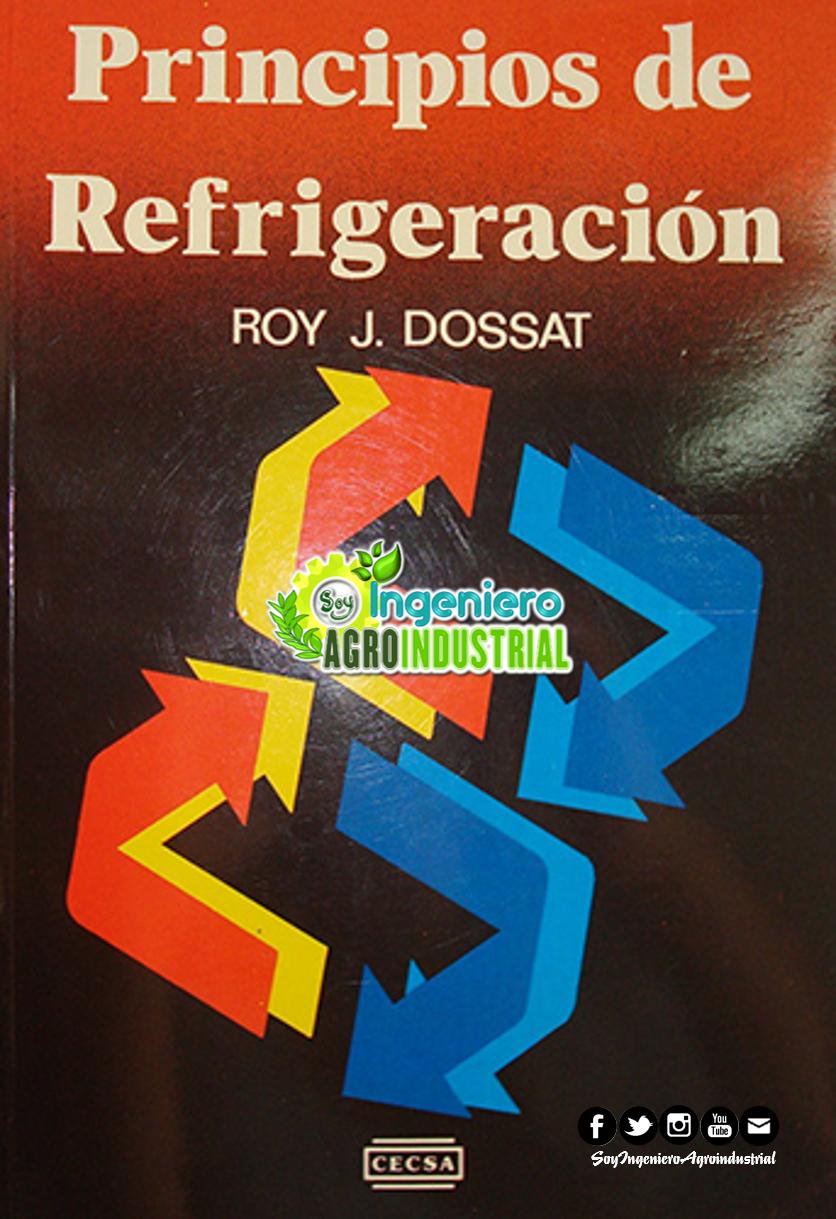DESCARGAR PRINCIPIOS DE REFRIGERACION ROY DOSSAT