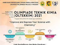 Olimpiade Kimia Nasional 2021 di Unej