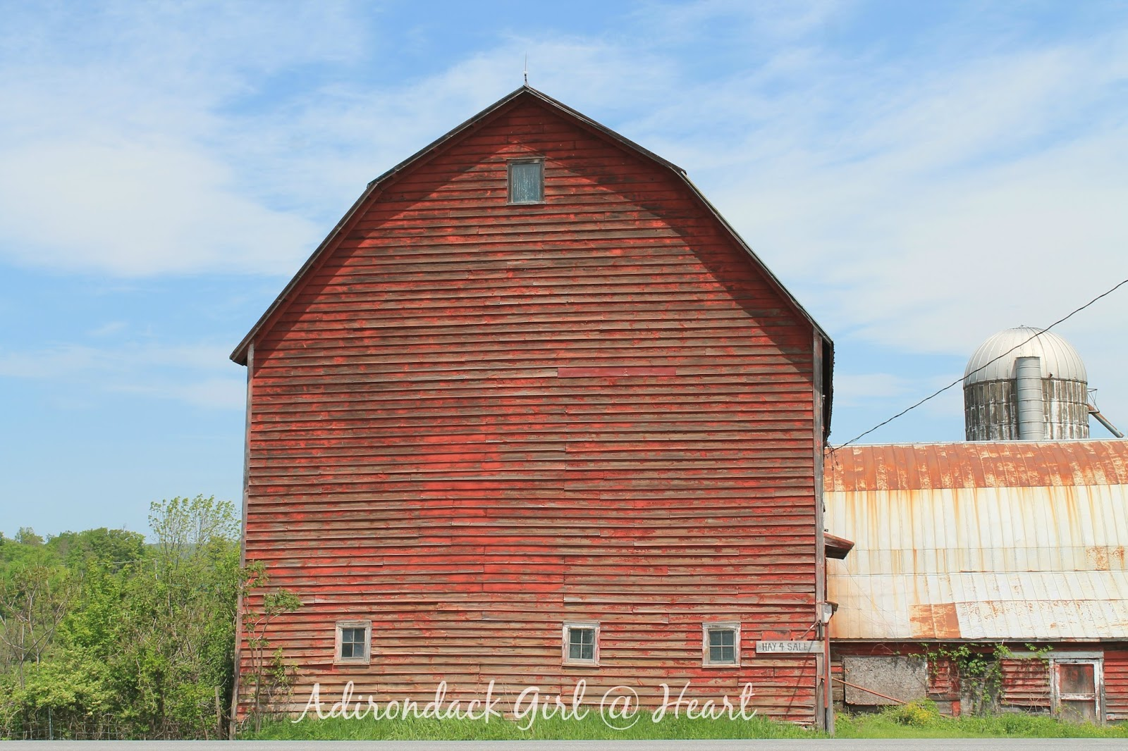 The Romantic Old Barns of Route 20