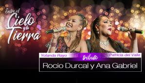 Gran TRIBUTO a Rocio Durcal y Ana Gabriel en Bogotá 2019