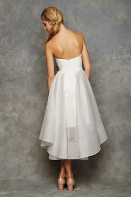 abiti da sposa corti David Fielden 2014