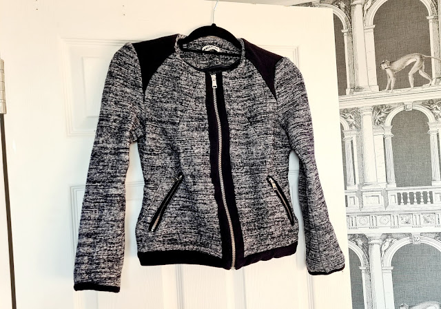 Whistles tweed bomber jacket