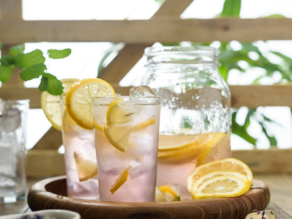Лимонад с лавандой