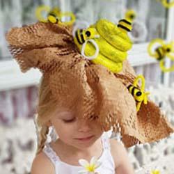 Bumble Bee Easter Hat parade DIY tutorial
