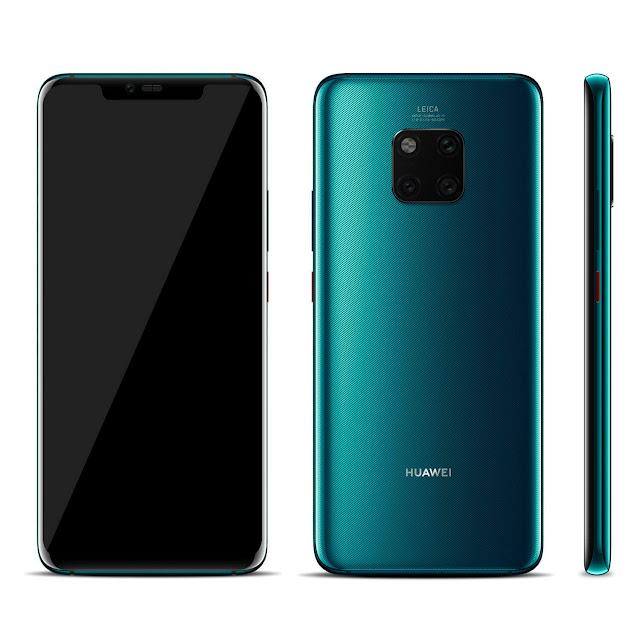 Huawei-Mate20-pro-Emerald-Green
