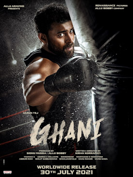 Ghani Box Office Collection Day Wise, Budget, Hit or Flop - Here check the Telugu movie Ghani wiki, Wikipedia, IMDB, cost, profits, Box office verdict Hit or Flop, income, Profit, loss on MT WIKI, Bollywood Hungama, box office india