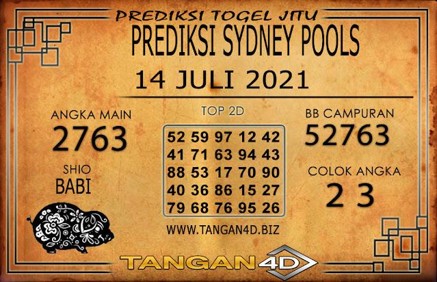 PREDIKSI TOGEL SYDNEY TANGAN4D 14 JULI 2021