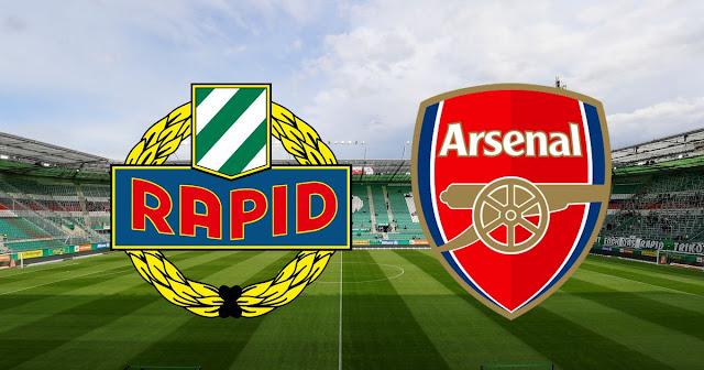 مباراة آرسنال و رابيد فيينا الدوري الأوروبي بث مباشر