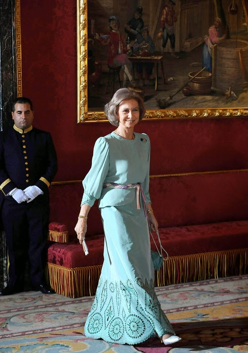 Satin Couture Royal Couture.....queen Sofia Of Spain, Style Icon | Nick