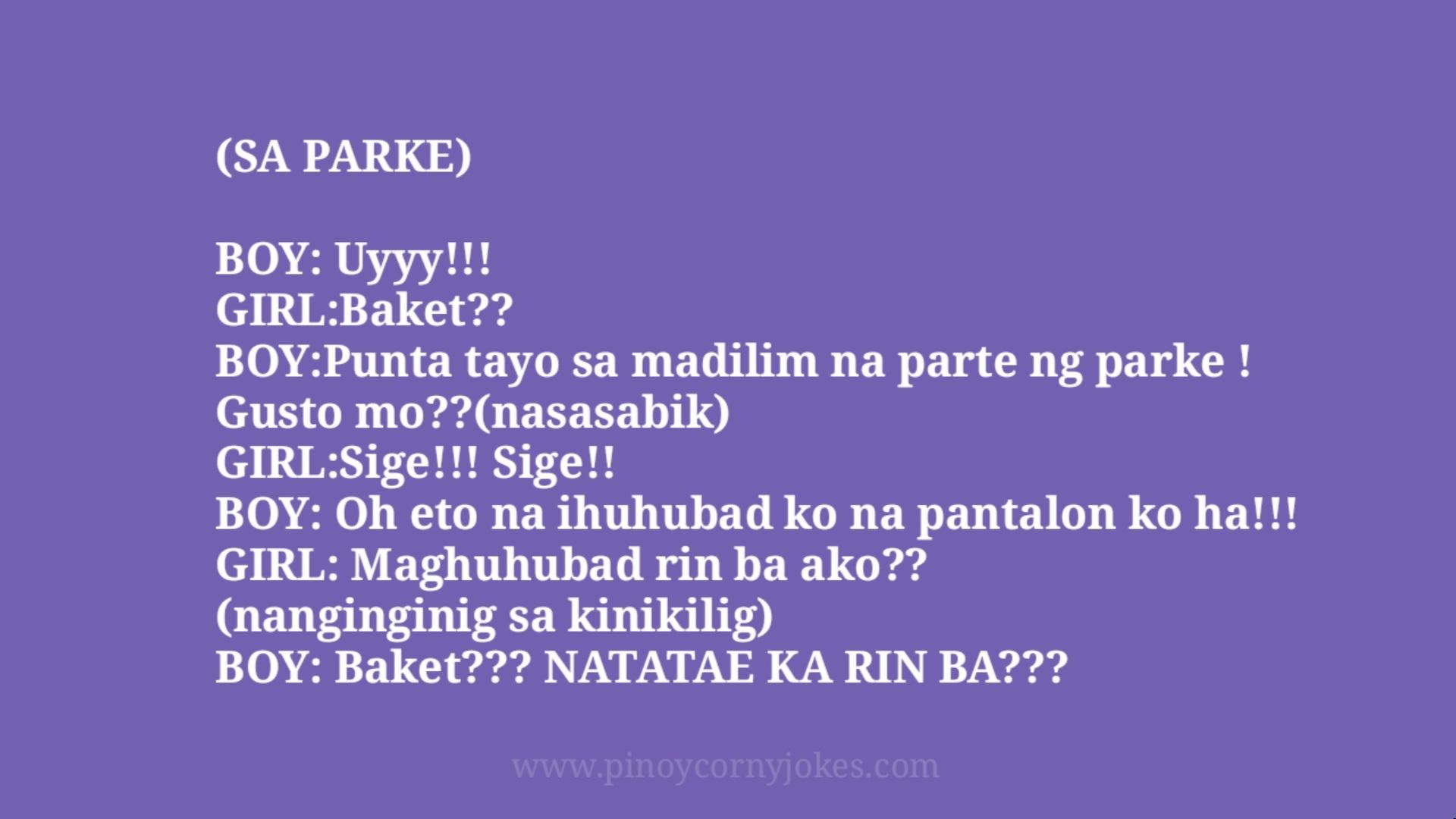sa parke joke time pinoy bot girl