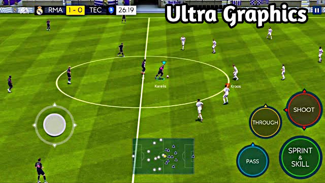 Download FIFA 19 Mobile Beta Official Android Ultra Graphics Engine GAMEPLAY