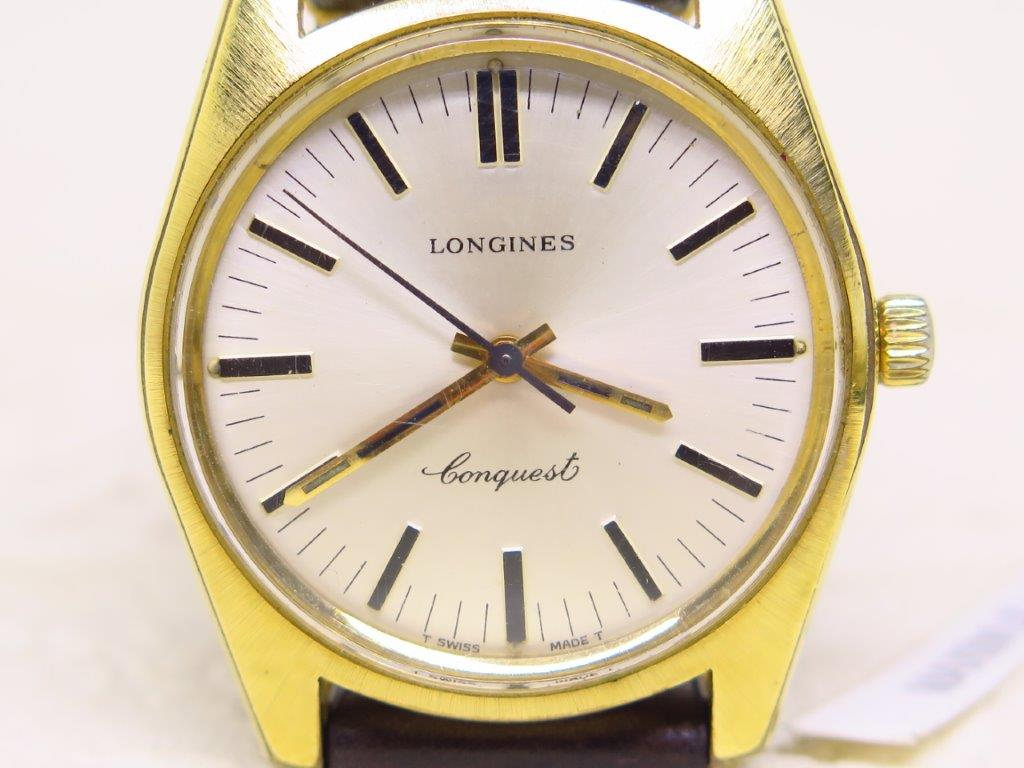 LONGINES CONQUEST WHITE DIAL - MANUAL WINDING 6942 RARE