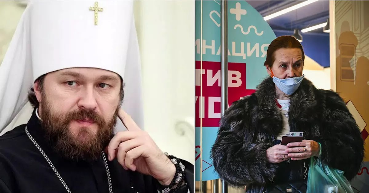 Russian Orthodox Church Says That Those Who Refuse To Be Vaccinated Against CoViD-19 Are Committing A 'Sin'