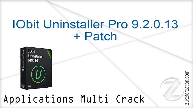 IObit Uninstaller Pro 9.2.0.13 + Patch