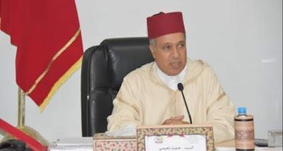 حميد النعيمي عامل صاحب الجلالة بإقليم السمارة نموذج للكفاءات الوطنية لعجلة الإصلاح و التنمية