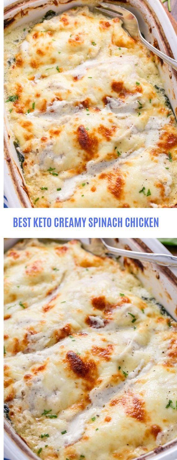 Creamy Spinach Chicken