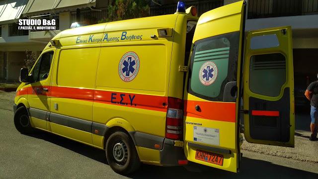 Αναστάτωση στο κέντρο του Άργους με άνδρα που βρέθηκε πεσμένος μέσα στην οικία του