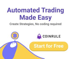 احصل على اشتراك مجاني مع Coinrule افضل اداة تداول لتفادى مخاطر العملات الرقميه