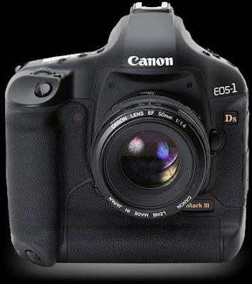 Canon EOS-1Ds Mark III DSLRソフトウェアのダウンロード