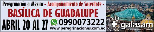 Peregrinación a México visitando la Basílica de Guadalupe y Cancún.