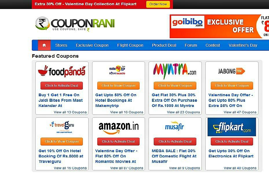 Save Money With Couponrain.com | Couponrani Review