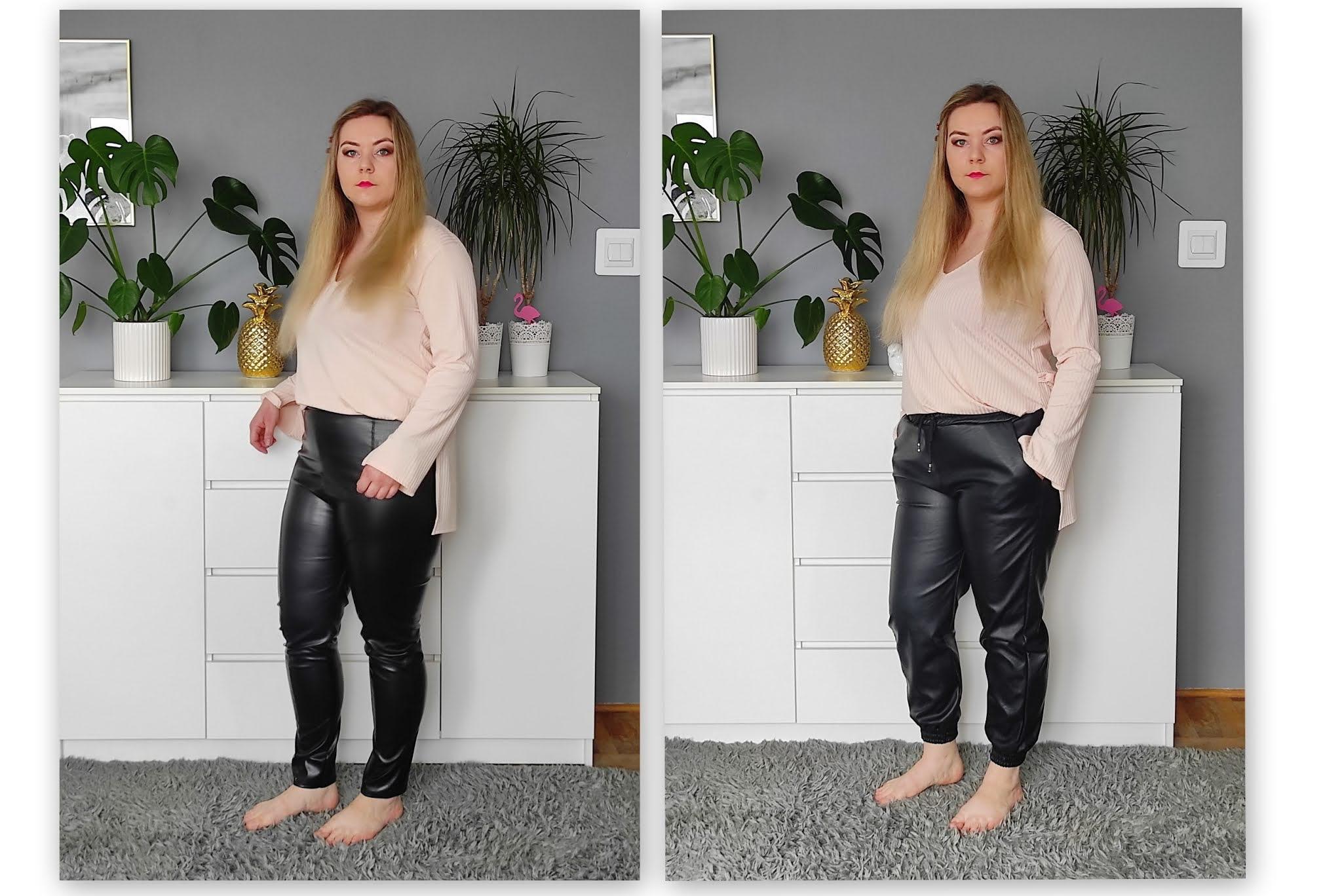 spodnie skórkowe