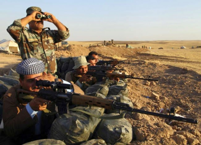 Paramilitary Kurdish Peshmerga ambush kills 15 ISIS militants